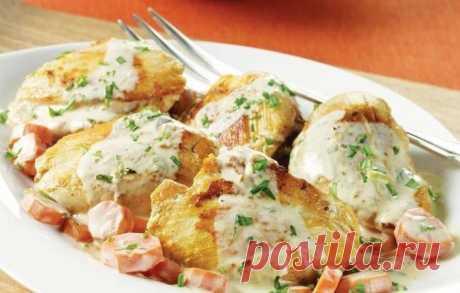 Нежное куриное филе — вкуснейший заряд белка, к тому же очень простой!