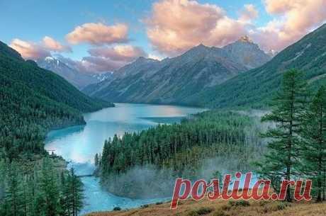 Алтай. Кучерлинское озеро.