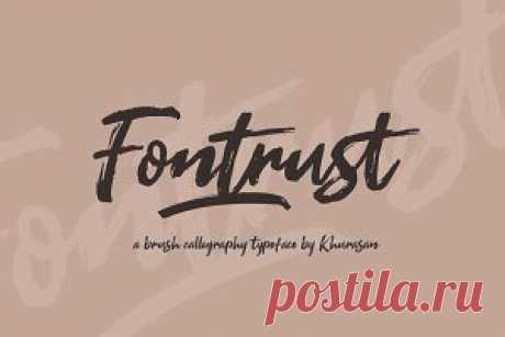 Fontrust Script ~ Script Fonts ~ Creative Market
