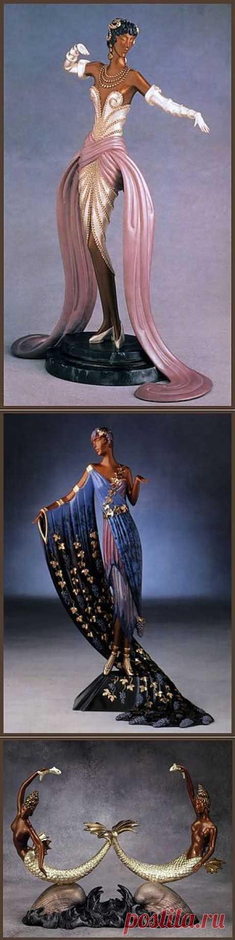 Скульптуры Эрте | Искусство