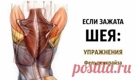 Если зажата шея: упражнения Фельденкрайза. Эффект 100%! Эффект 100%! Просто попробуйте! Делать не спеша, получая от движений удовольствие. Искать разницу