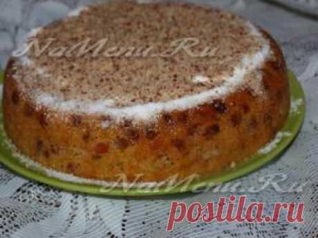 Кекс в мультиварке: рецепт с фото
