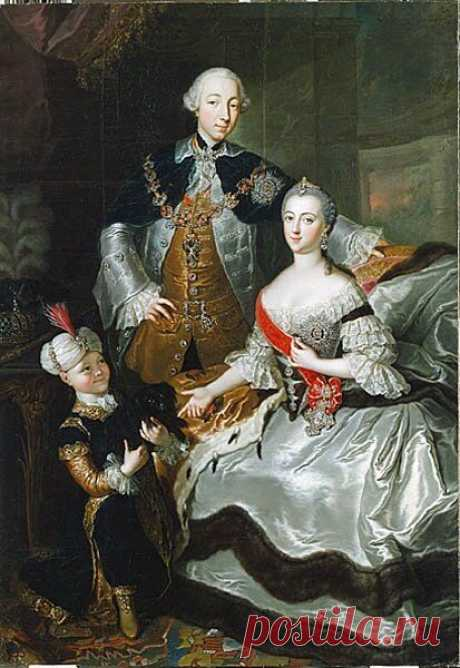 Великая княгиня Екатерина Алексеевна с супругом Петром III Фёдоровичем /Public Domain