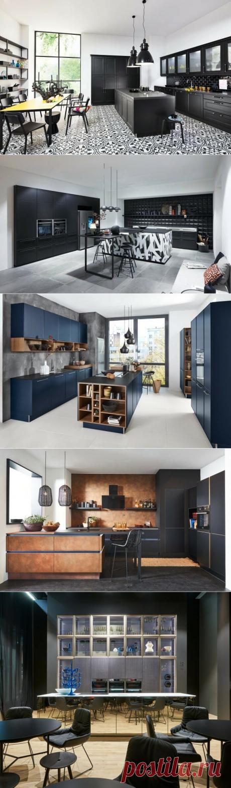 Советы профессионалов. Темные кухонные фасады – благородно VS мрачно | Nolte Küchen | Яндекс Дзен