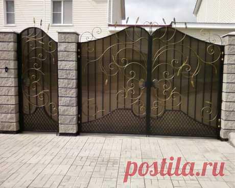 Как вам такие ворота?     (источник: handmadestars)