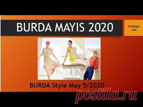 BURDA MAYIS 2020 / BURDA MAY 5/2020 - YouTube
