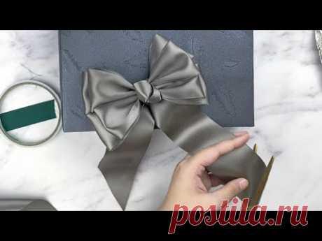 Gift Wrapping   禮物盒包裝+四層蝴蝶結打法