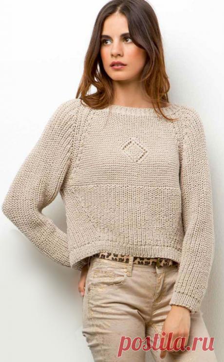 Вязаный свитер Nelly | ДОМОСЕДКА