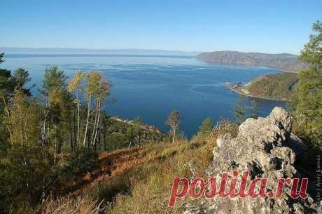 Озеро Байкал, Россия - ФОТО.