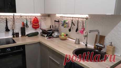 Кухня в коридоре! Необычная и креативная перепланировка однушки-хрущёвки ...
