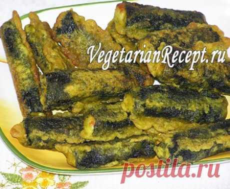 """Вегетарианская """"жареная рыба"""" в кляре - оригинальный рецепт"""