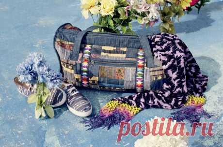 Лоскутная сумка Модная одежда и дизайн интерьера своими руками