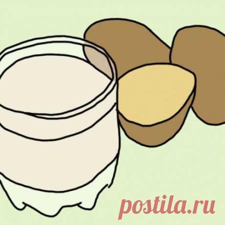 10 удивительных свойств картофельного сока, о которых знают не все