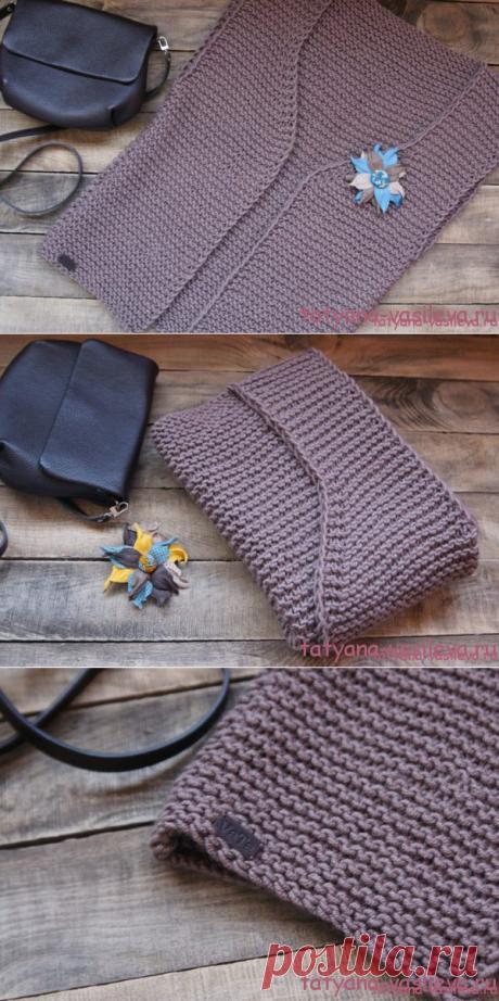 Вязаный жилет спицами | Блог Васильевой Татьяны