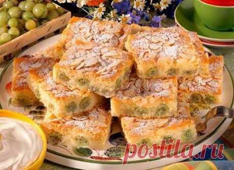 Миндальные пирожные с крыжовником | Женский интернет-портал | Все для женщины