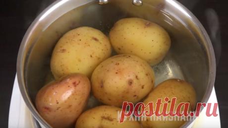 Простой запеченный картофель, от которого мало кто откажется! | Кухня наизнанку | Яндекс Дзен