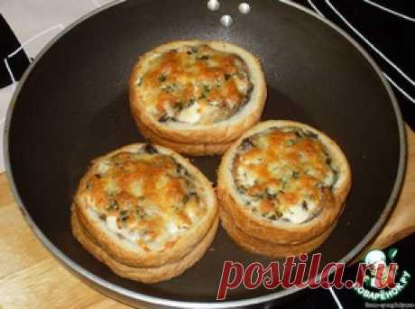 """Жюльен с грибами """"Срочно в номер!"""" - кулинарный рецепт"""