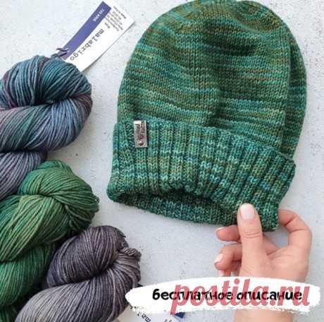 Простая шапка спицами, Вязание для женщин