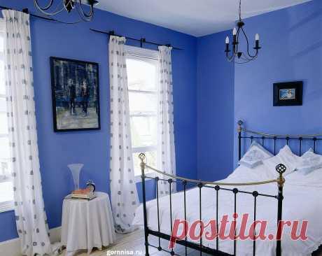 Кому нужна синяя спальня. Может быть Вам? | ГОРНИЦА Кому нужна синяя спальня. Может быть Вам? Несомненно, синяя спальня необходима людям, которые хотят максимально расслабиться в часы отдыха