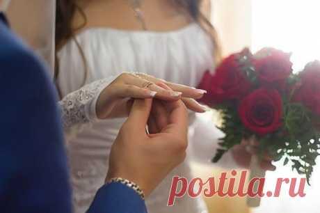 Одна девушка вышла замуж так...