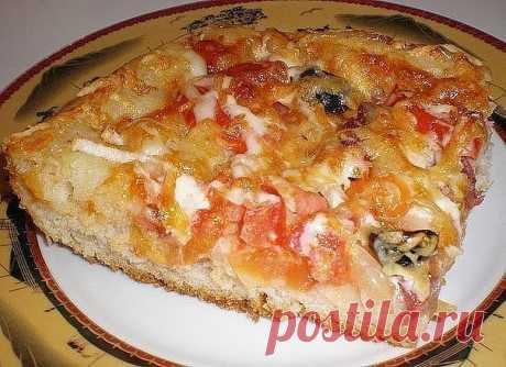 Есть пицца тонкая, а есть пицца вкусная! | Самые вкусные кулинарные рецепты