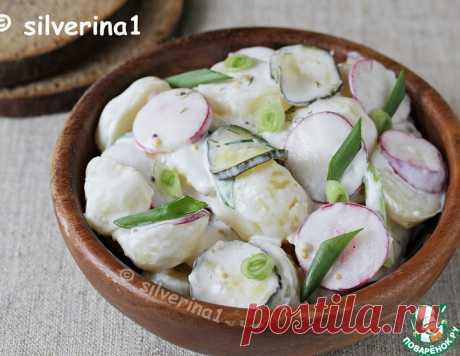 Сливочный картофельный салат – кулинарный рецепт