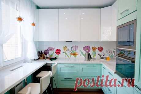 Дизайн маленькой кухни: 180 фото — Roomble.com