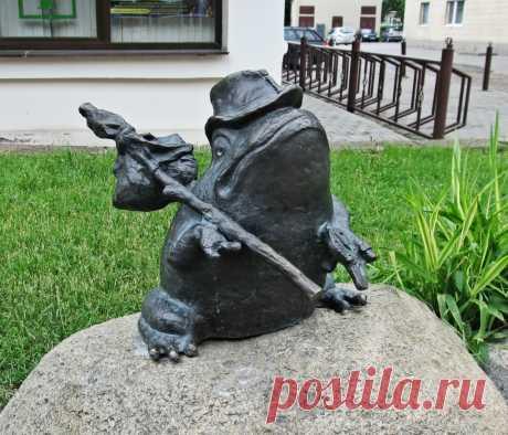 #Лягушка_путешественница #Гродно