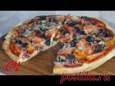Быстрое Тесто для Пиццы и Великолепная Пицца!!! /Fast Pizza Dough and Gorgeous Pizza !!!