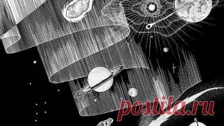 Сегодня День космонавтики, и мы к нему подготовились — издали комикс «Под звёздным небом» (mif.to/ssky). Он написан для детей, но взрослым тоже будет чему удивиться. Иллюстратор Гаэль Альмерэ открывает нам тайны Вселенной, учит читать небесную карту, объясняет сложные явления. Давайте узнаем (или вспомним) кое-что прямо сейчас.