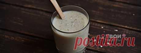Бананово-овсяной смузи - вкусный рецепт с пошаговым фото