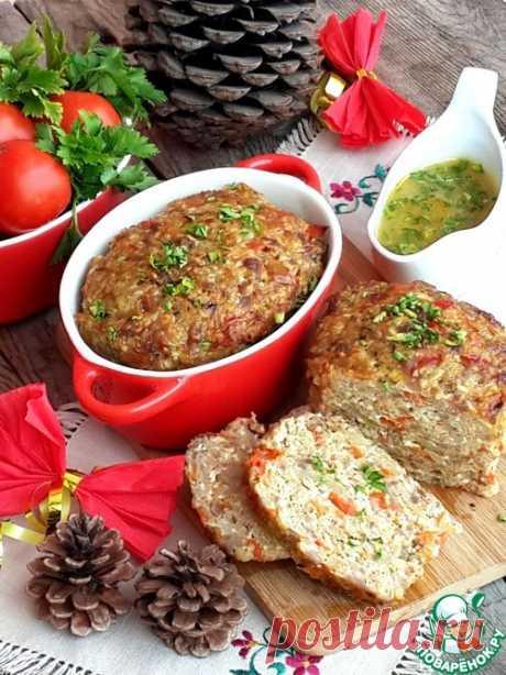 Мясной хлеб с пшеном и паприкой - поразительно вкусно, нежно и воздушно!