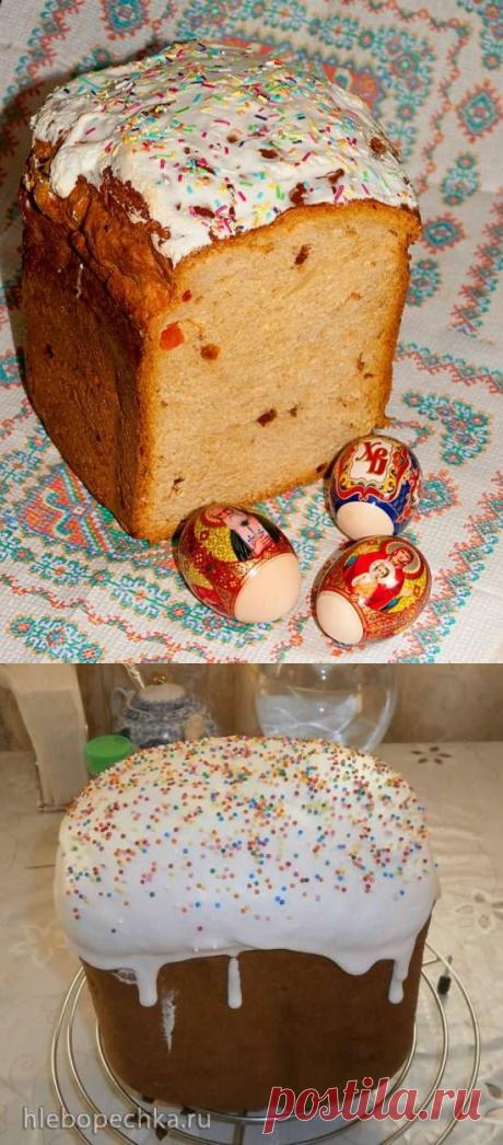 Куличи в хлебопечке (рецепты) - Хлебопечка.ру