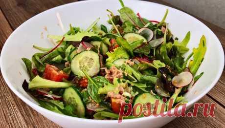 Мой самый любимый салат с тунцом | Простые рецепты от Нашей Кухни! | Яндекс Дзен