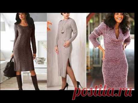 Красивые Вязанные платья  - Beautiful Knitted dresses  -Ideas