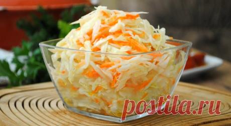 Готовлю вкусную маринованню капусту за 30 минут(быстрый и простой рецепт) | Готовим с Шуриком | Яндекс Дзен