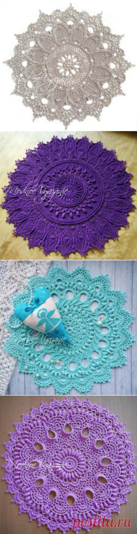 салфетки,скатерти,прихватки - Crochet Modnoe Vyazanie