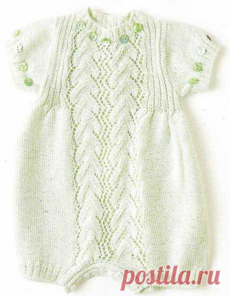 Вязание для новорожденных и малышей одежды со схемами и описанием. - страница 7