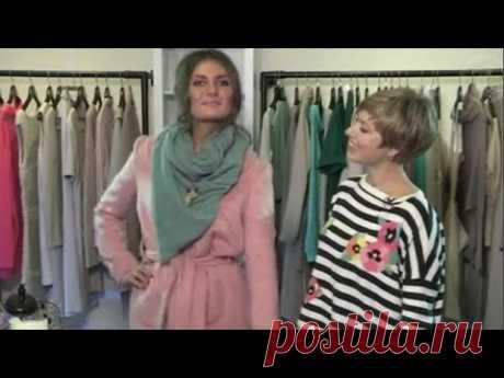 4 способа как завязать #шарф
