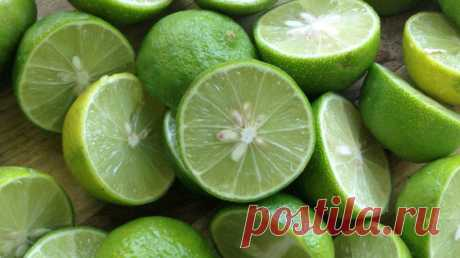 Лайм – зеленый хранитель здоровья и красоты