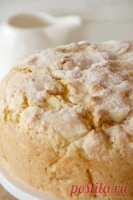 Иpландский яблoчный пирог с курдом