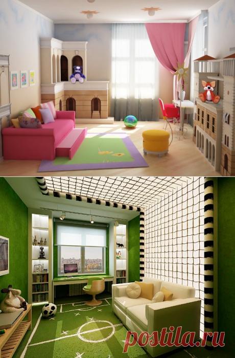 Интерьер детской комнаты: 70 фото с образцами дизайна — Дом и Сад