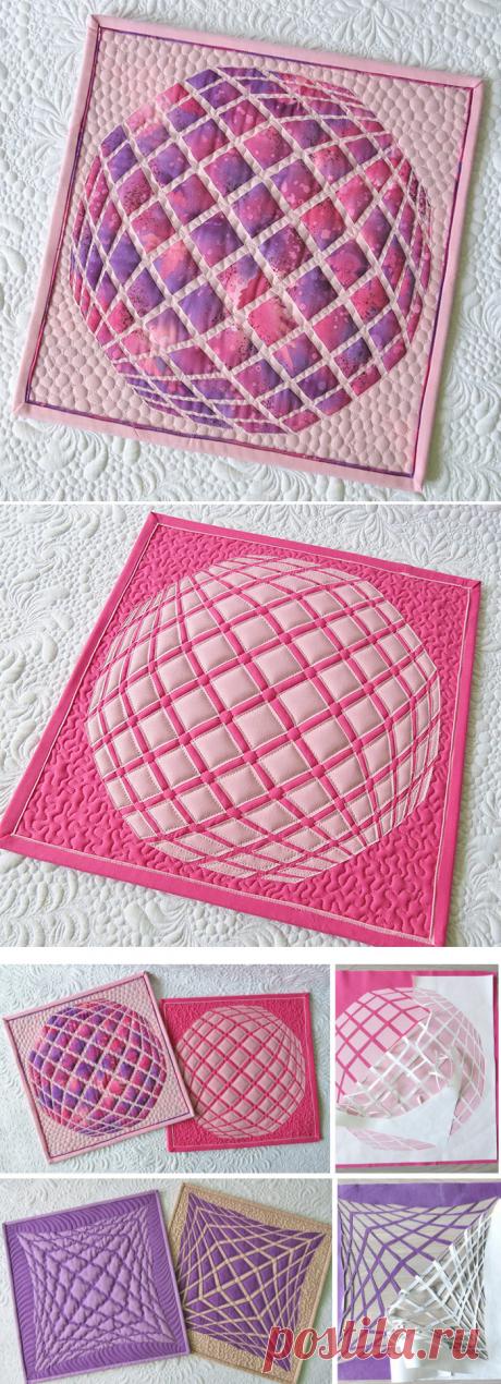 Reverse Applique Quilts - one technique, two quilts! - Geta's Quilting Studio