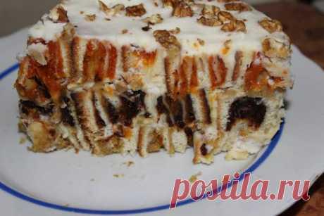 Торт с сухофруктами от моей мамы - Меню недели