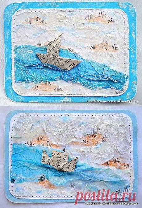 Ships - inspiration from the newspaper!
