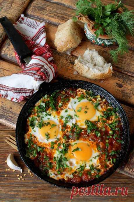 Чирбули: яичница по-грузински   Вкусные рецепты