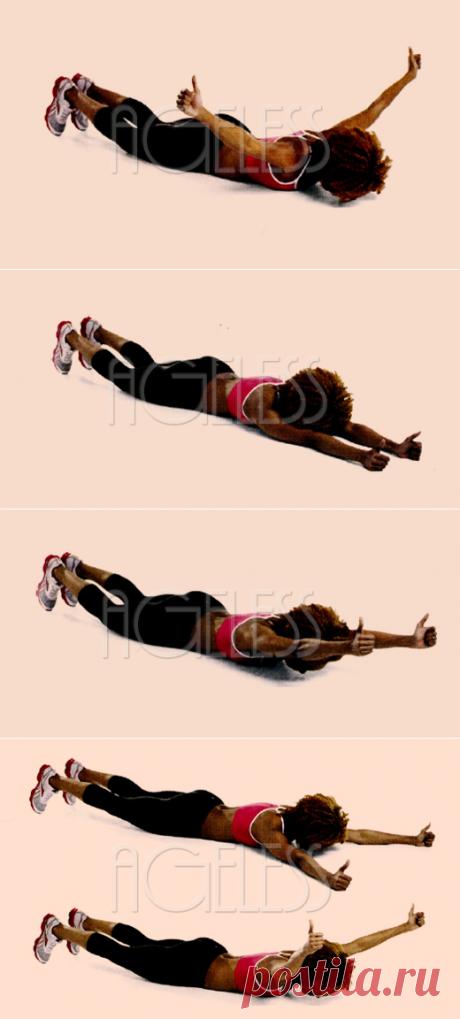 Тренировка Расправь крылья для красивой груди