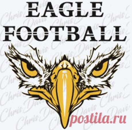 Eagle Football Head Вектор Скачать JPG SVG PNG Вы получите все | Etsy