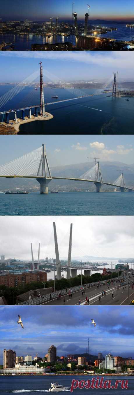 ВЛАДИВОСТОК - ЛУЧШИЙ ГОРОД ЗЕМЛИ! Мосты мосты.: