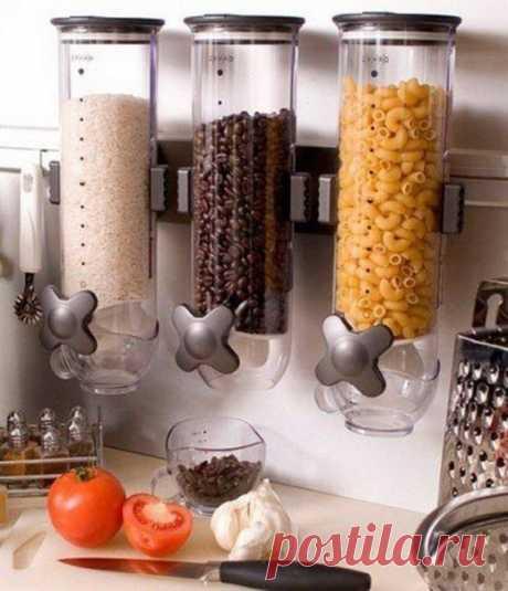 Контейнеры для сыпучих продуктов. Идея для кухни - полезные советы